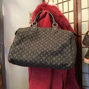 Louis Vuitton Brown Canvas Speedy 30